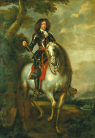 "perfact oil painting handpainted on canvas ""  a crown prince on horseback""@N3751"