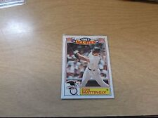 DON MATTINGLY 1988 TOPPS #2 OF 22 ALL-STAR GAME COMMEMORATIVE 1987 NY YANKEES