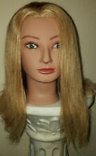 Diane by Fromm Charlize Mannequin Head  100% Human Blond Hair