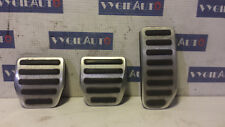2012 VOLVO R-DESIGN MANUAL V60 S60 XC60 XC70 PEDAL PAD SET 31290382 31255497 OEM