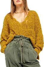 BNWT Womens Size M New Look Mustard Chenile Balloon Sleeve Jumper