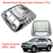 Bonnet Hood Scoop Turbo Cover Chrome Trim for Toyota Fortuner 2005 2006 - 2010