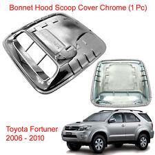 Bonnet Hood Scoop Turbo Cover Chrome Trim for Toyota Fortuner 2005 2006 - 2010