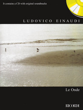"LUDOVICO EINAUDI ""LE ONDE"" PIANO/KEYBOARD MUSIC BOOK/CD-BRAND NEW ON SALE-RARE!!"
