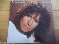 "BARBRA STREISAND - LOVE SONGS 12"" LP / RECORD - CBS 10031 - SUNBURST LABELS"