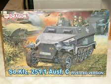 Dragon 1/35 Scale Sd.Kfz. 251/1 Ausf. C Riveted Version - Factory Sealed