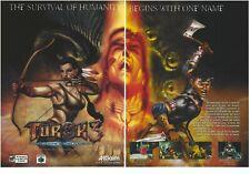 Turok 3: Shadow Of Oblivion Print Ad/Poster Art Nintendo 64 N64 (B)