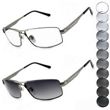 Gun-metal Photochromic lenses Transition Sunglasses Eyewear spectacles 7008TT