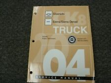 2004 Chevy Silverado GMC Sierra & Denali Transmission Shop Service Repair Manual