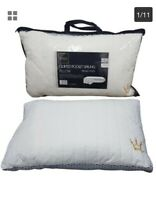 Pocket Sprung 2 Pack Pillows Firm Cotton Orthopaedic For Back Side Sleeper