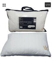 Confezione da 2 A MOLLE INSACCHETTATE cuscini ditta COTONE ORTOPEDICO PER LATO POSTERIORE Sleeper