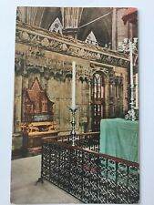 Coronation Chair Stone crowned Jacob Westminster Abbey Uk Postcard A10