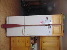 "vintage  /antique   wooden oar  83 ""  nice    # 6851"