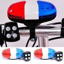 Polizei Fahrrad Sirene Mit Licht LED Polizeilicht Kinderfahrrad Sirene 4 Töne