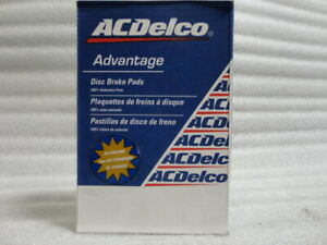 ACDelco 14D976CH Advantage Ceramic Front Disc Brake Pads GM:19313861
