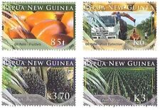 Papua New Guinea 2009 - Oil Palm Farming Set of 4 Stamps MNH