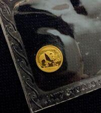 2016 1g .999 Chinese Gold Panda 10 Yaun BU Mint Sealed