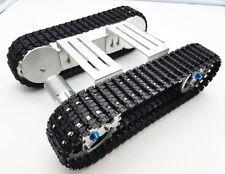 Tracker Crawler Aluminium Platform Damping balance Metal Tank Robot Chassis