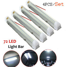 4x 12V LED Interior Lights Bar lighting Strip Lamp Universal For Cabin Caravan