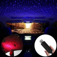 Romantic Auto Roof Star Projector Interior Ambient Atmosphere Light USB Plug