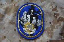 Z089 écusson insigne patch militaire 2e Cuirassiers Plongeurs Peloton