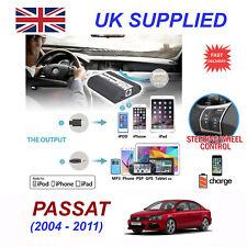 For VW Passat iPhone 5 6 7 8 SE 10 mp3 Aux Digital Audio CD Changer Module 12pin