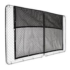 Black Heavy-Duty Mesh Breathable Tarp Uv Sun Shade Screen Fence Awning Cover