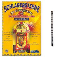 Schlagersterne 30 Evergreens für Steirische Handharmonika - 9002720223692