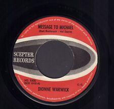 "DIONNE WARWICK – Message to Michael (1966 VINYL SINGLE 7"" HOLLAND)"
