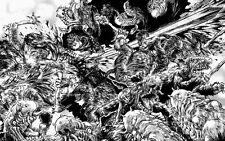 "109 Berserk - Manga Kentaro Miura Japanese Anime 22""x14"" Poster"