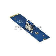 NGFF M.2 to PCI-E X16 Slot Transfer Card Mining Pcie Riser Card VGA Cable Mini S