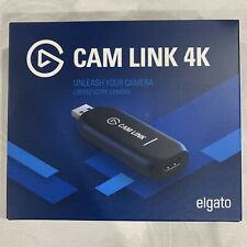 Elgato Cam Link 4K HDMI Capture Device NEW SEALED