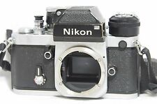 Nikon F2 Photomic DP-1 35mm SLR Film Camera Silver Body SN7150383 w/AR-1 AS-1