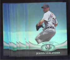 2011 BOWMAN PLATINUM BASEBALL #82 JUSTIN VERLANDER NMMT