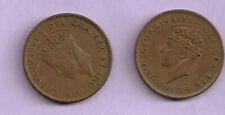 NEW FOUNDLAND 1 CENT COINS 1942 and 1943