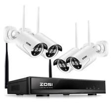 ZOSI 4CH 960P HD Funk NVR Video Überwachungssystem WIFI WLAN Überwachungskamera