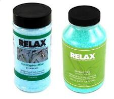 EUCALYPTUS MINT & GREEN TEA WATER AROMA THERAPY SALT CRYSTALS-SPA HOT TUB BATHE