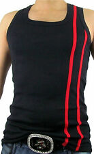 Mens New GYM Vest Slim Fit TANK TOP SUMMER MUSCLE  - CHEAPEST ON EBAY