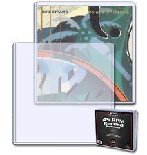 (Lot Of 5) BCW 45 RPM Record Single Album Toploader - Topload Case Holder