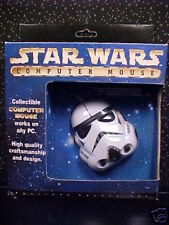 *STAR WARS*STORMTROOPER*COMPUTER MOUSE*NEW*SEALED BOX*