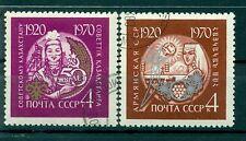 Russie - USSR 1970 - Michel n. 3776/77 - République d'Arménie et kazakhe