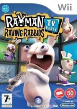 Wii & Wii U - Rayman Raving Rabbids TV Party **New & Sealed** Official UK Stock
