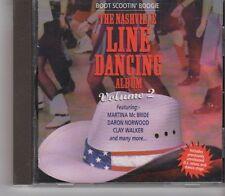 (GA284) Boot Scootin' Boogie The Nashville Line Dance Album Vol. 2 - 1998 CD
