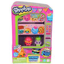 SHOPKINS VENDING MACHINE STORAGE TIN RARE Includes 2 Exclusive Shopkin Figures!!