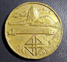 BRAZIL RIO DE JANEIRO 1965 IV CENTENNIAL OF THE CITY ANNIV. SHIELD & CITY DESIGN