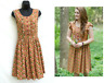 MATILDA JANE Womens XS 0 2 Lucy Dress CHARACTER COUNTS Fit & Flare Sleeveless