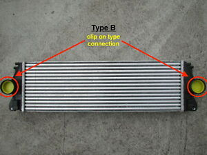 NEW INTERCOOLER FOR VW CRAFTER 2E 2F UP TO 07/18 ( QUICK FITTING CLIP ON TYPE!)