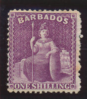 Barbados Stamp Scott #56, Mint Hinged/Remnant