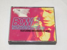 The Singles Collection by David Bowie (CD, Nov-1993, 2 Discs, EMI Music Distribu