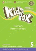 Kid's Box Level 5 Teacher's Resource Book with Online Audio American English, Co